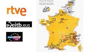 Cómo seguir el Tour de Francia por televisión