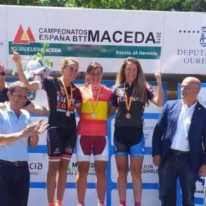 Cristina Muñoz (BZ Team) subcampeona de España de MTB