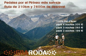 EraRoda: Pedalea por el Pirineo más salvaje