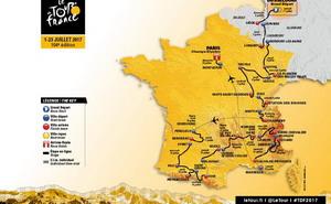 Etapas y vídeo Tour de Francia 2017
