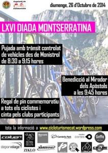 La Diada Montserratina, la concentración cicloturista llega a su 66 edición