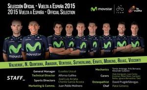 Movistar Team ya tiene alineación para luchar por La Vuelta