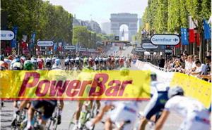 Powerbar energía oficial del Tour de Francia 2015