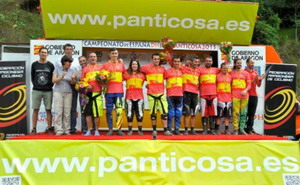 Toni Ferreiro campeón de España de descenso