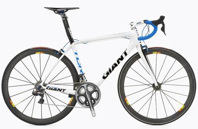 Giant presenta la bicicleta más cara del planeta