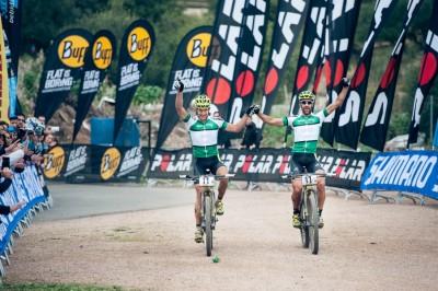 Alban Lakata y Kristian Hynek se llevan la Andalucía Bike Race