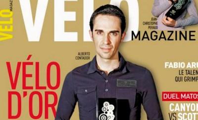 Alberto Contador gana su cuarta Velo D Or