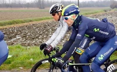 Alejandro Valverde supera su día más difícil