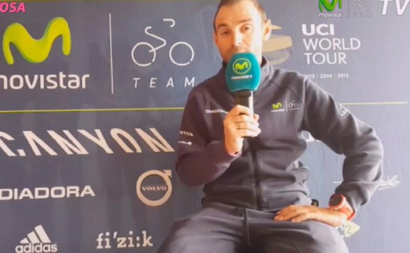 Así afronta Valverde la última semana del Giro de Italia