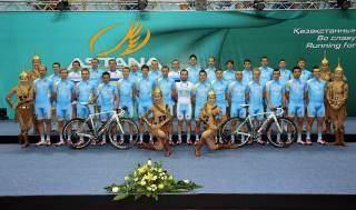 Preselección del Astana Team para el Tour de Francia 2013