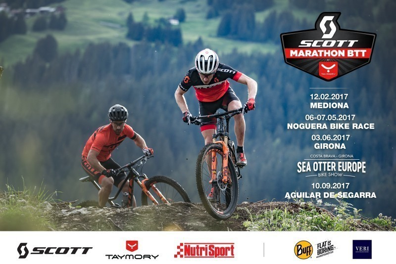 Calendario Scott MTB Marathón by Taymory 2017