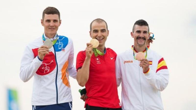 Carlos Coloma cumple su sueño olimpico y es bronce en Río