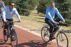 Madrid planea construir 274 kilómetros de carril-bici