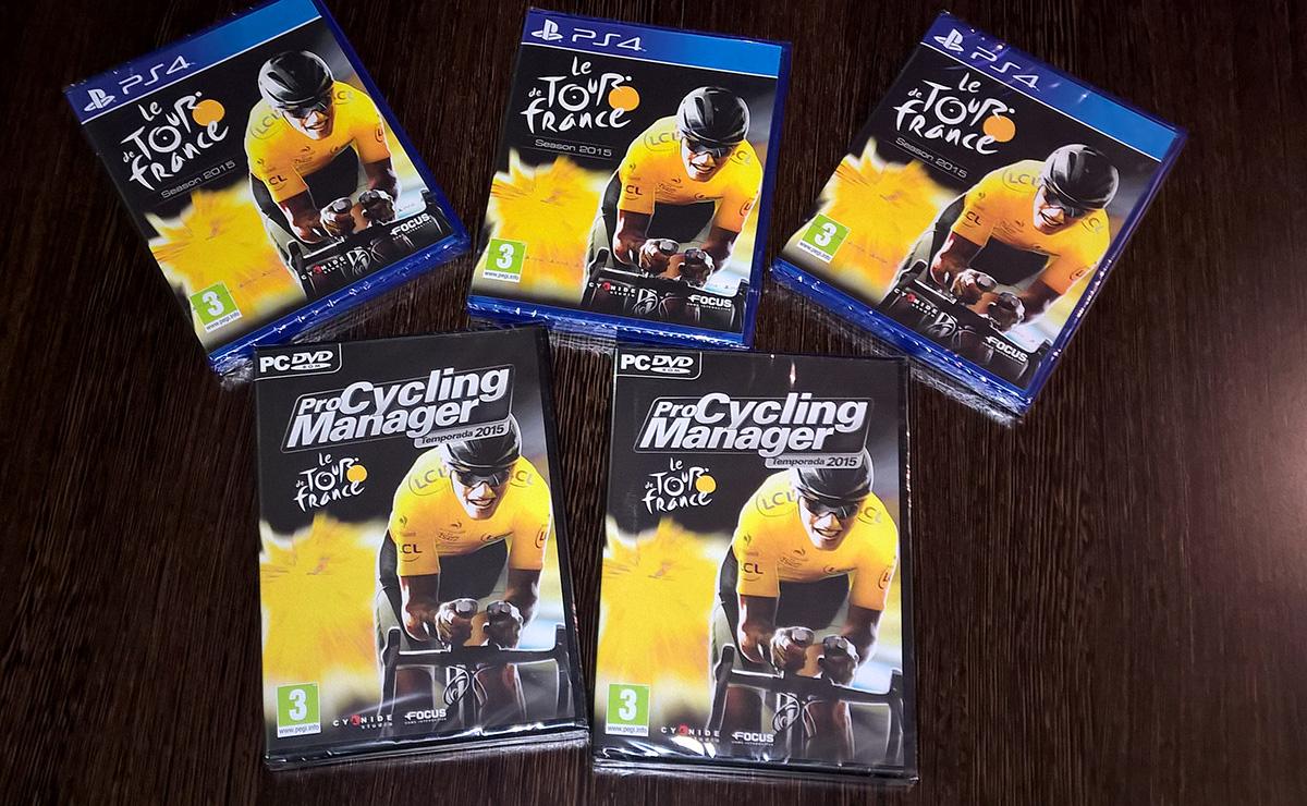 SORTEO DE 5 JUEGOS DE CICLISMO PARA PC Y PS4