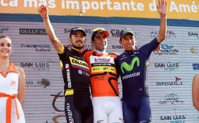 Dani Díaz arrasa en el Tour de San Luis 2015
