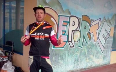 Diez Arriola (BZ Team) podio en el Campeonato de España de Enduro