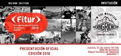El Big Ride 2016 se presenta en Fitur