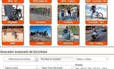 El buscador de bikezona te ayuda a elegir la bicicleta de tus sueños
