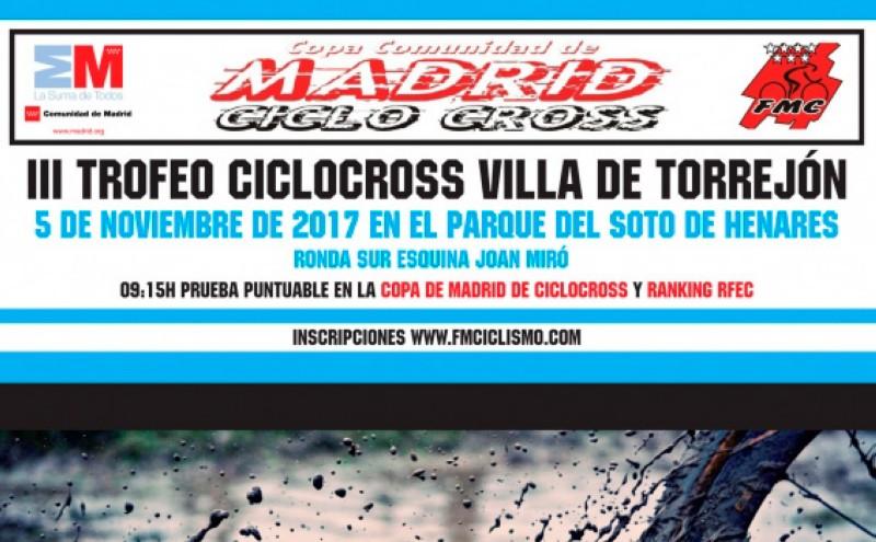 El ciclocross regresa a Torrejón de Ardoz