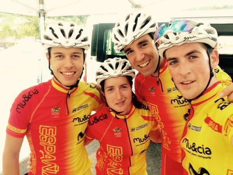 El Team Relay da comienzo a los europeos de MTB