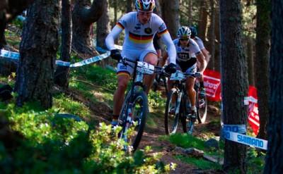 Entrena en el circuito oficial de XCO UCI MTB World Championship