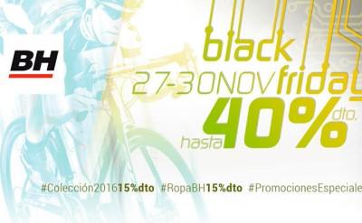 Hasta un 40% de descuento en el Black Friday de BH Bikes