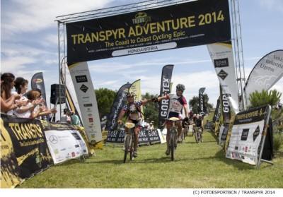Hondarribia recibe a los ciclistas de la Transpyr más dura