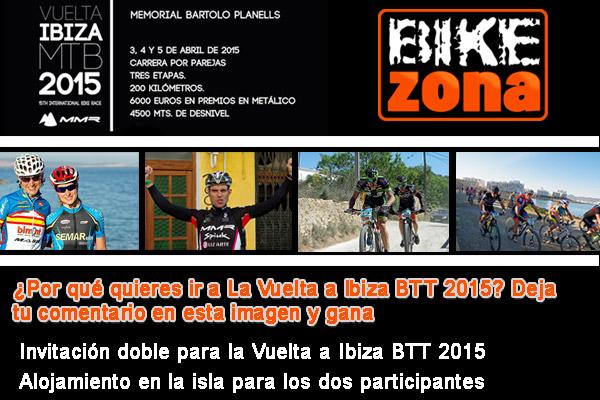 Sorteo Especial Vuelta a Ibiza BTT 2015
