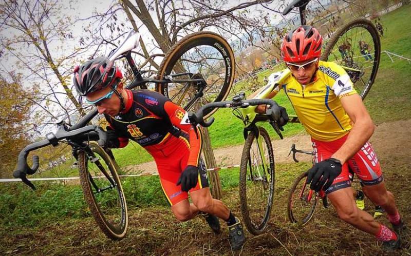Isaac Simon y Anna Villar campeones de Cataluña de ciclocross