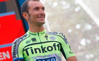 Ivan Basso cuelga la bicicleta