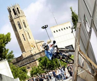 Jorge García gana el descenso urbano de Lleida