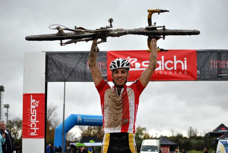 José María Cristóbal domina el XIII Ciclocross de Coslada