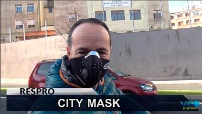 Josema Fuente prueba la  Respro City Mask