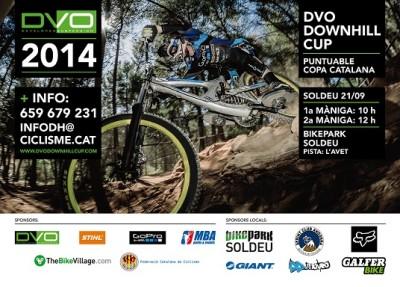 La final de la DVO Downhill Cup en Soldeu