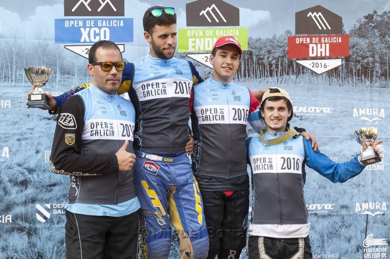 Luis Manovel dominó el Open de Galicia DHi