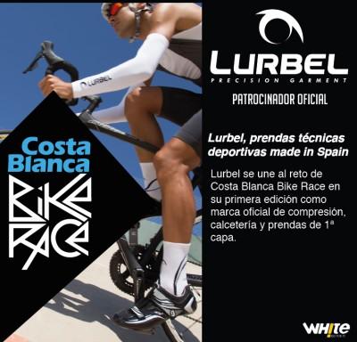 Lurbel patrocinador oficial de la Costa Blanca Bike Race