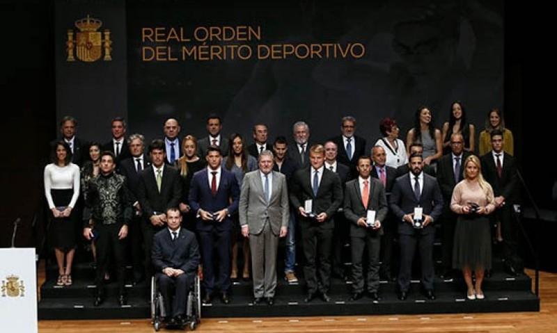Mario Mola y Jairo Ruiz medallas de la Real Orden del Mérito Deportivo
