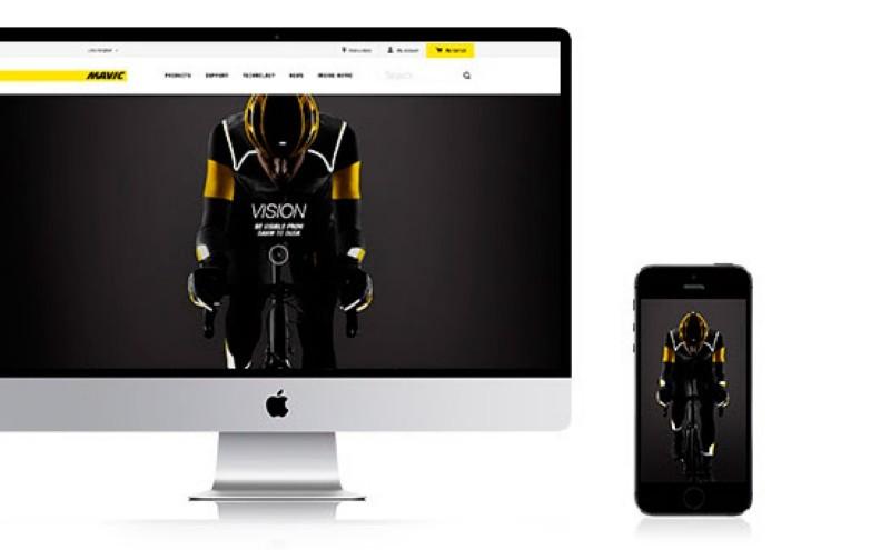 Mavic renueva su página web