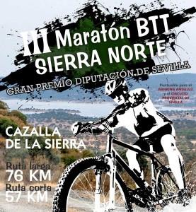 Máxima expectación en el III Maratón BTT Sierra Norte