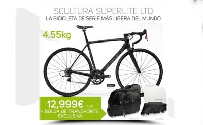 Merida Scultura Superlite LTD: La bicicleta más ligera del mundo