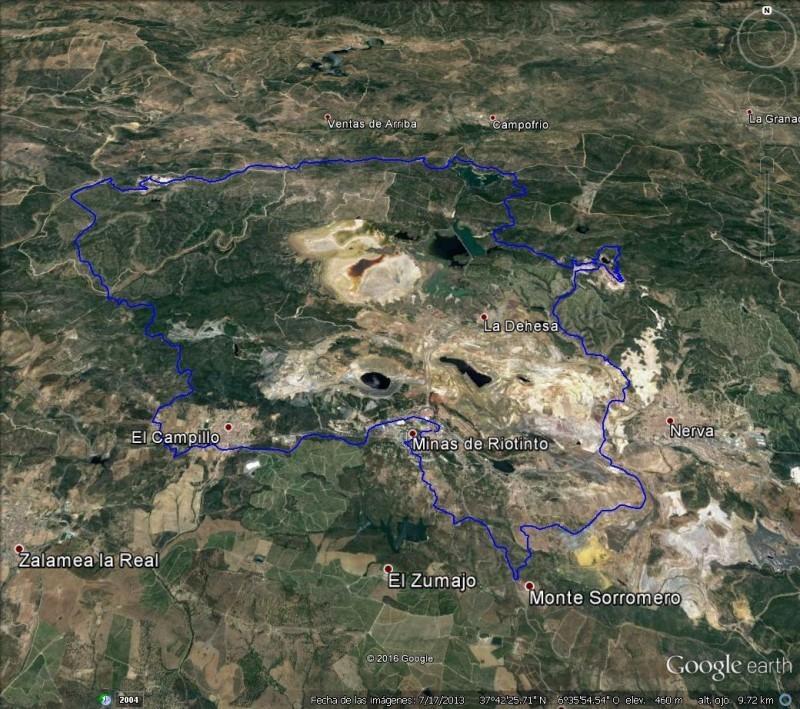 Minas de Riotinto cierra el Open de Andalucía BTT Maratón