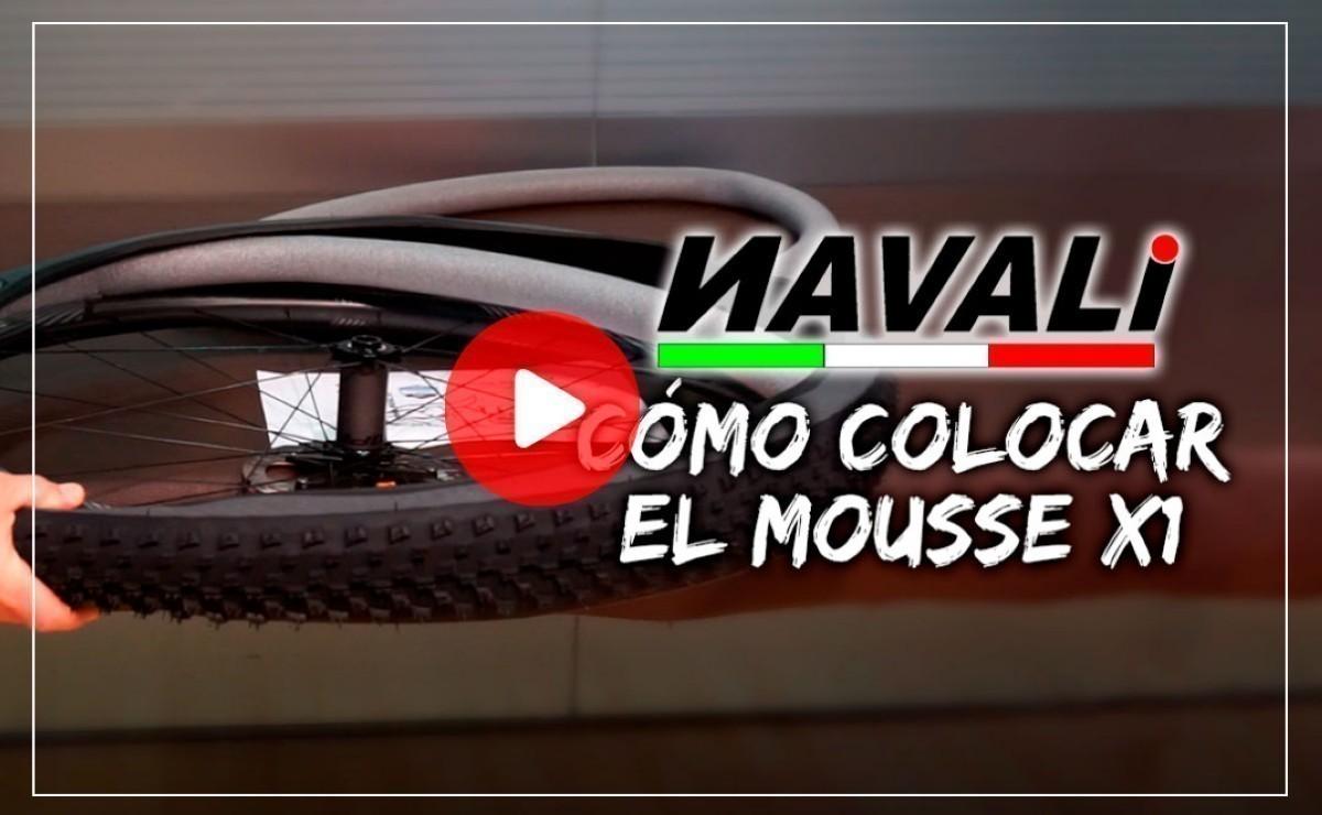 Mousse X1 de Navali, la solución a los pinchazos, te enseñamos cómo montarlo