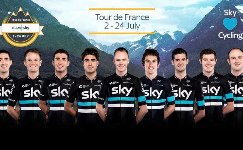 Nieve y Landa acompañarán a Froome en el Tour de Francia 2016