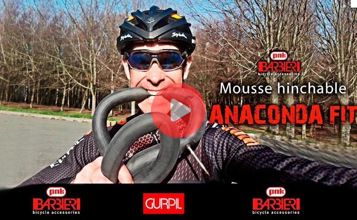 Novedad Gravel: Mousse + Camara  Mousse hinchable Anaconda FIT