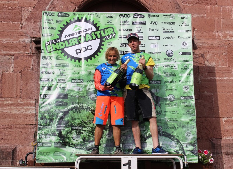 Pleno de victorias de Díez Arriola en el Open Enduro Astur