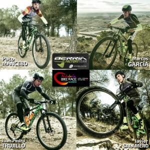 Póquer de ases del Berria Factory Team para la Andalucía Bike Race 2017