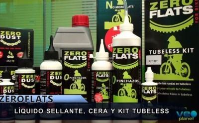 Presentación gama de productos ZeroFlats con Josema Fuente