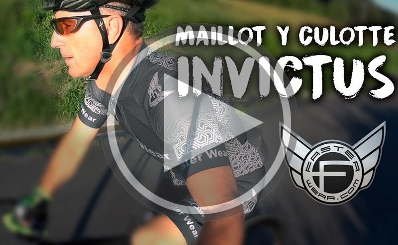 Maillot y culotte INVICTUS de Faster Wear