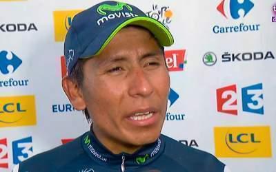 Nairo Quintana gana la etapa y es segundo en el Tour de Francia