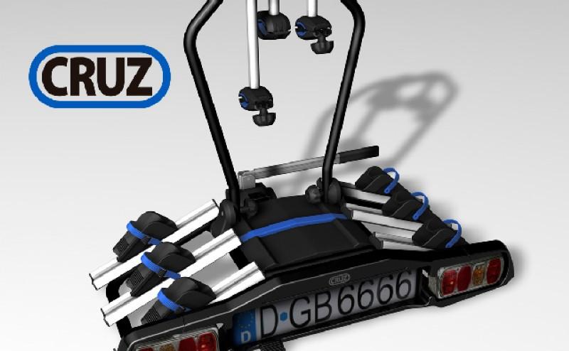 Race y Pivot los nuevos portabicicletas de la marca Cruz